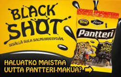 Pantteri Black Shot -makeispussi