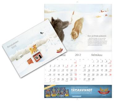 Hau-Hau kalenteri 2012