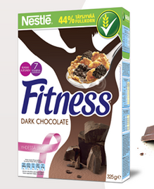 Fitness Dark Chocolate -hiutaleet [FB]